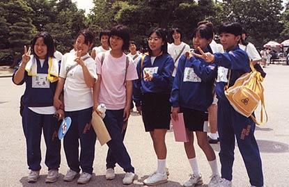 Schoolgirls From Osaka Japan